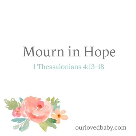 Mourn in Hope